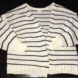NWOT striped cardigan